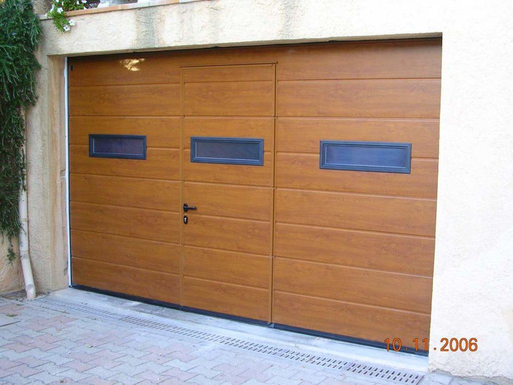 Portail garage motorisation